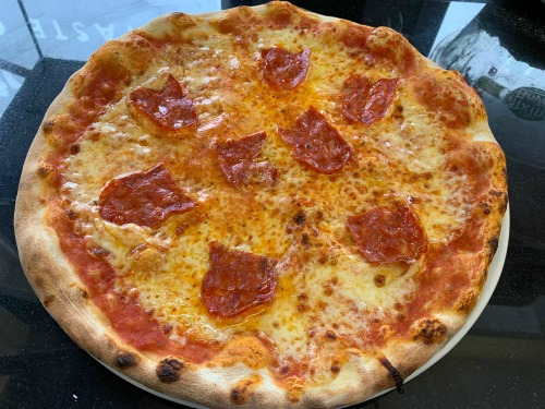 Pizza Salame Picante Italian Food Evesham